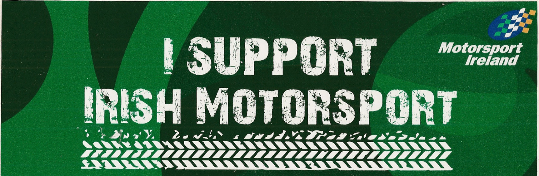Support Irish Motorsport Stickers